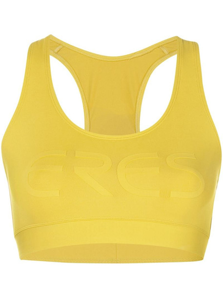 Eres Sporty sports bra in yellow