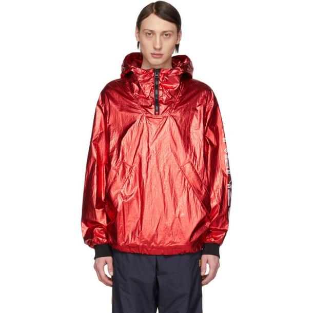 Kenzo Red Sport Anorak Jacket