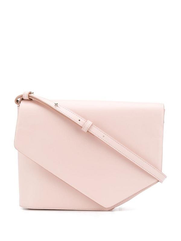 Christian Wijnants Arjana leather crossbody bag in pink