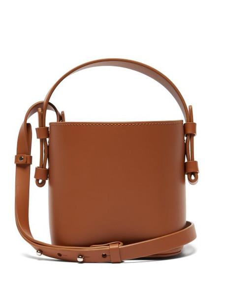 Nico Giani - Adenia Mini Leather Bucket Bag - Womens - Tan