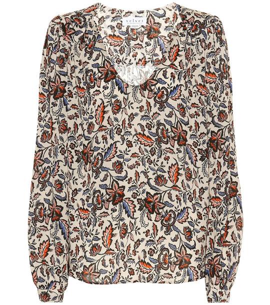 Velvet Carly floral blouse