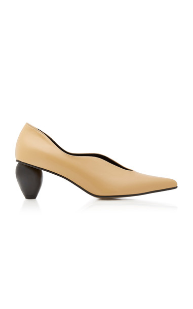 Yuul Yie Exclusive Bebe Leather Pumps in neutral