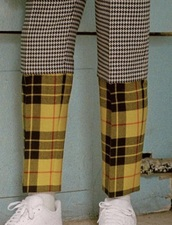 pants,houndstooth,tartan,plaid
