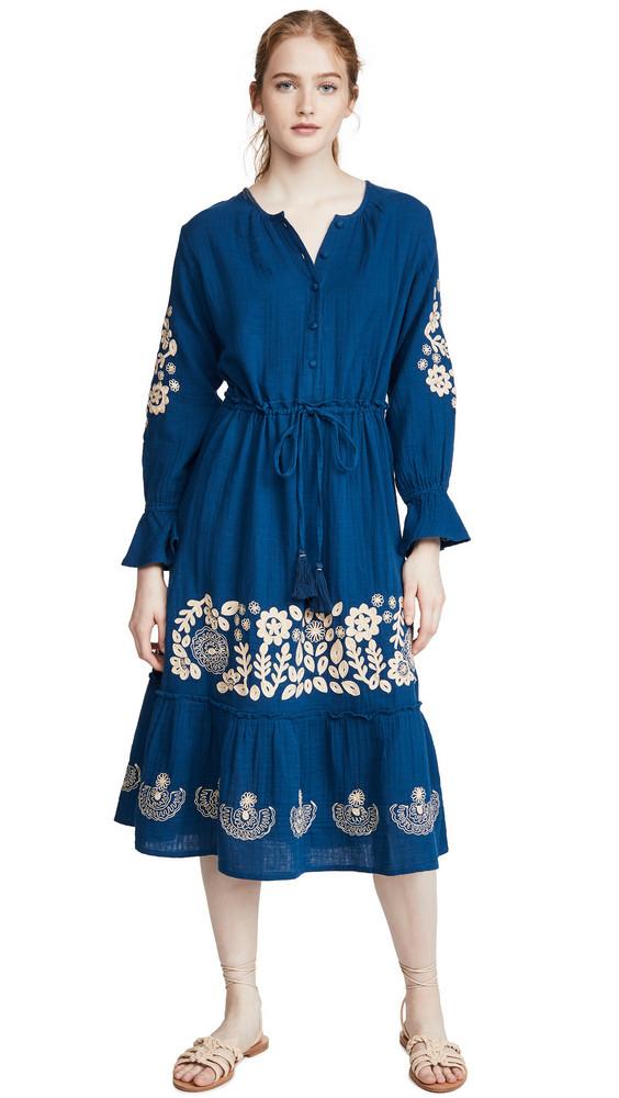 Roller Rabbit Margoa Dress in blue