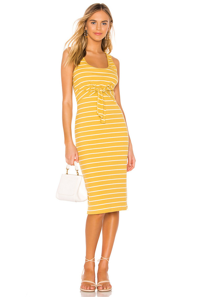 HEARTLOOM Kenzie Dress in yellow
