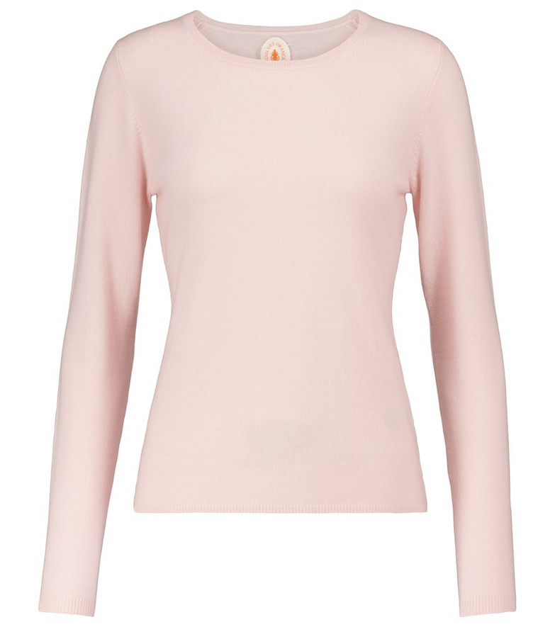 Jardin des Orangers Cashmere sweater in pink