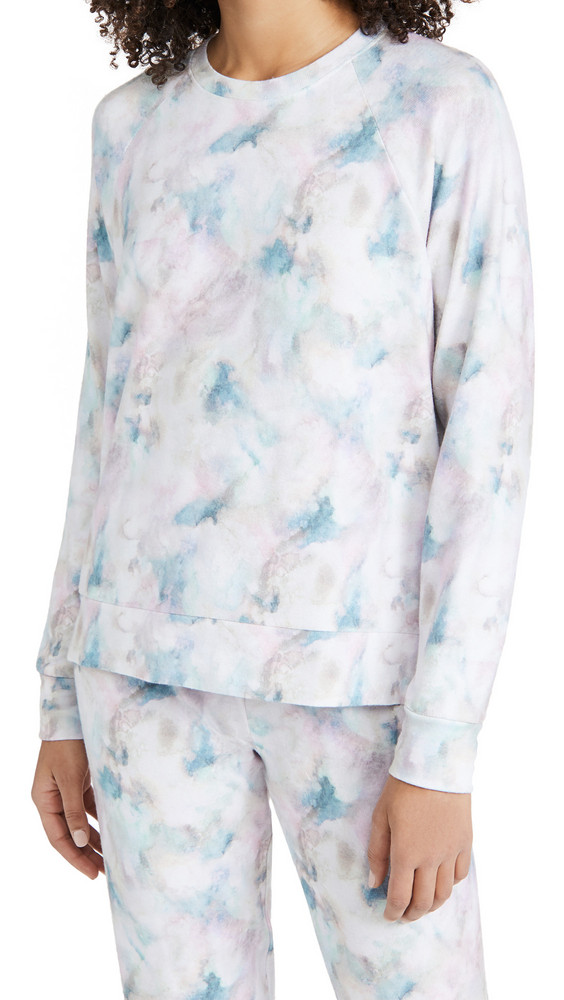 PJ Salvage Marble Vibes Pullover in multi