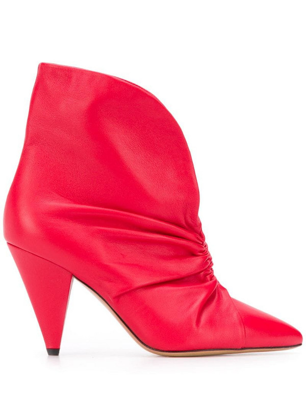 Isabel Marant Lasteen boots in red