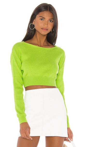NBD Seline Sweater in Green