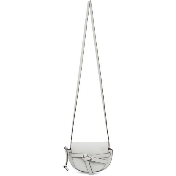 Loewe Grey Mini Gate Bag
