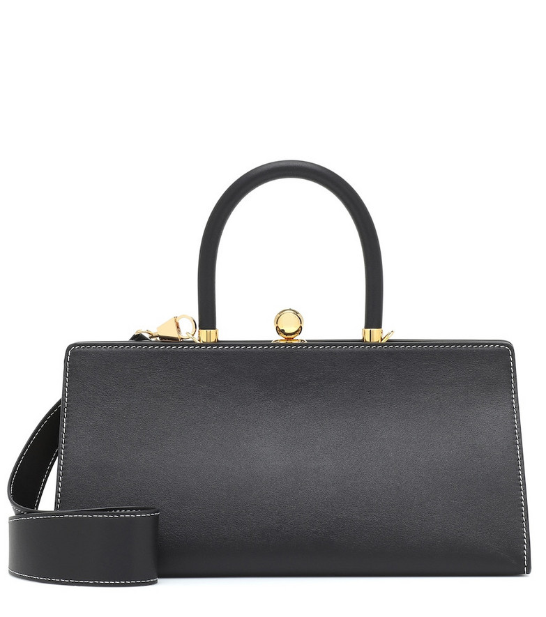 Ratio et Motus Sister leather shoulder bag in black