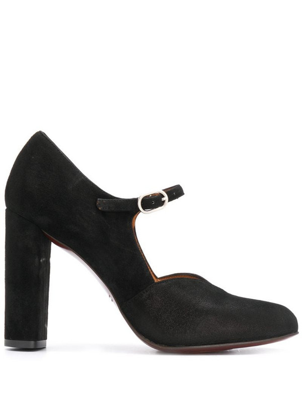 Chie Mihara high-heeled leather pumps in black