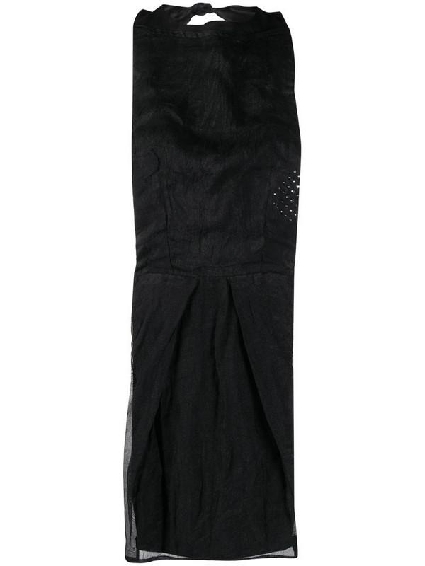 Maison Martin Margiela Pre-Owned 1990s sheer bib top in black