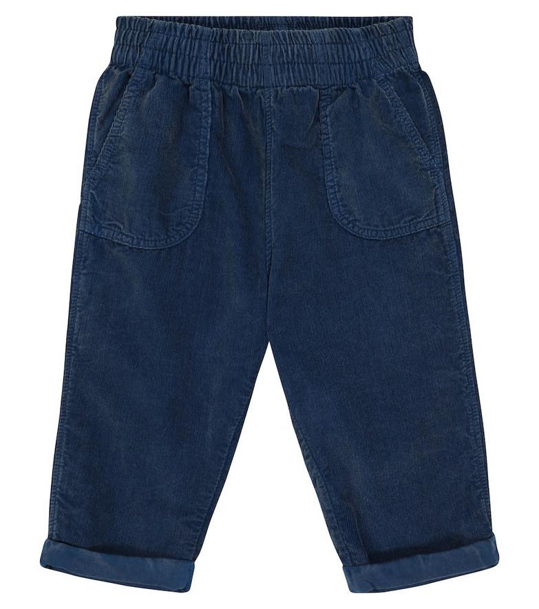 Molo Seve corduroy pants in blue