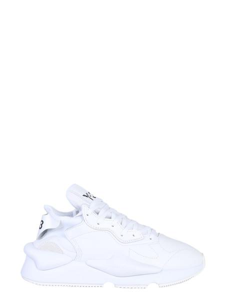 Y-3 Kaiwa Sneakers in bianco