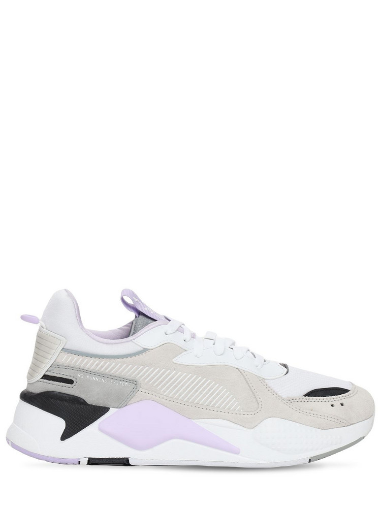 PUMA Rs-x Reinvent Sneakers in lilac / white