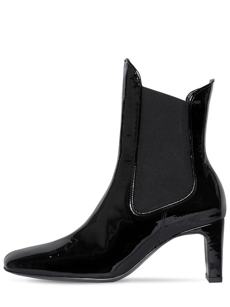 DORATEYMUR 60mm Patent Leather Chelsea Boots in black