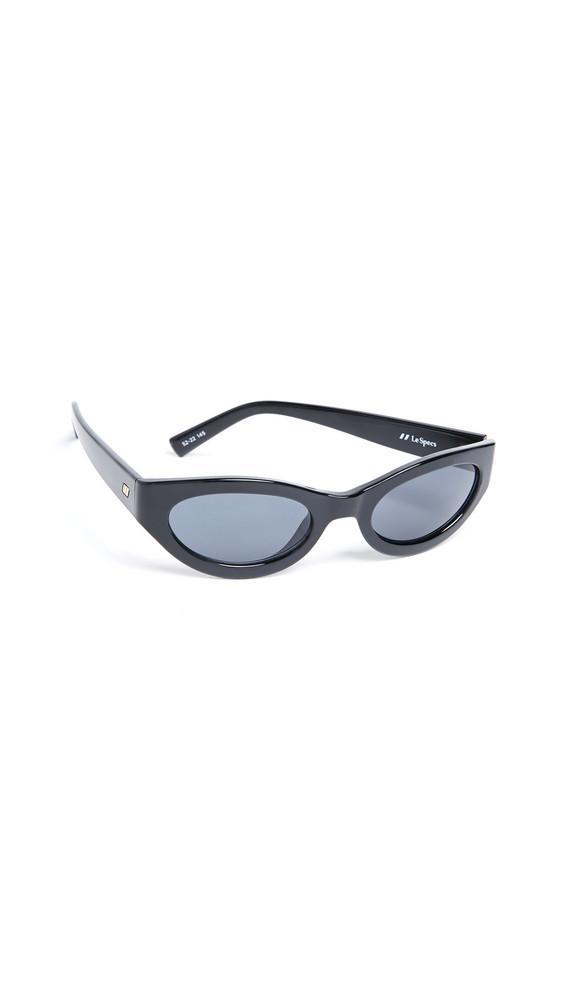 Le Specs Body Bumpin Sunglasses in black