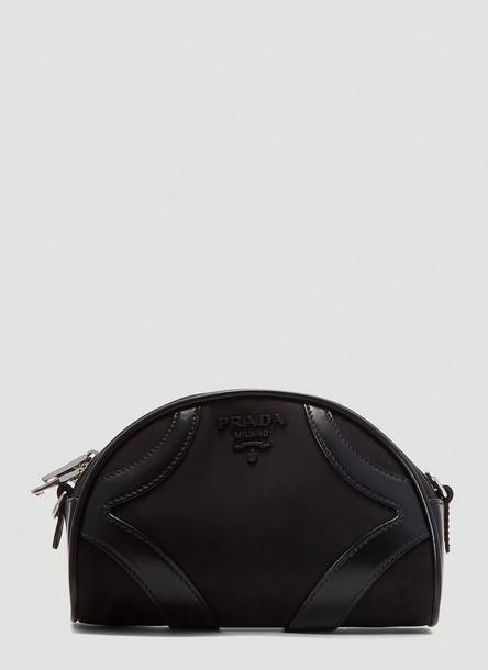 Prada Nylon Bowling Bag in Black size One Size