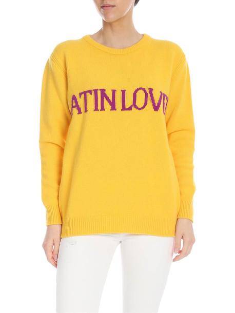 Alberta Ferretti Alberti Ferretti - Latin Lover Sweater in yellow