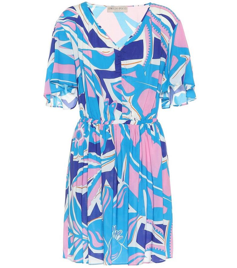 Emilio Pucci Beach Printed minidress