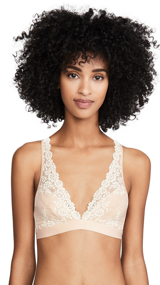 Wacoal Embrace Lace Soft Cup Bra in natural / ivory