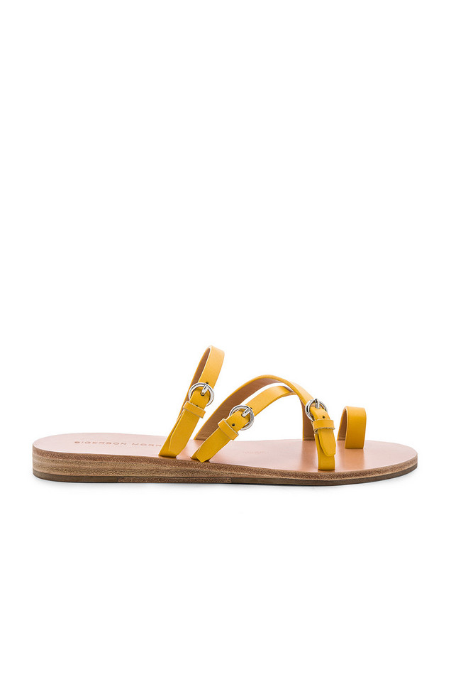 Sigerson Morrison Kaley Sandal in yellow