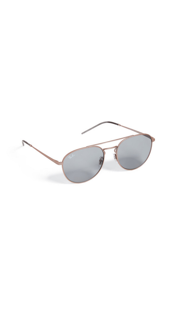 Ray-Ban RB3589 Youngster Aviator Sunglasses in copper