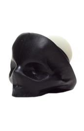 make-up,black,lip balm,skull,cosmetics