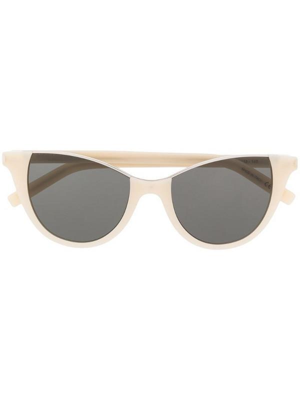 Saint Laurent Eyewear SL368 cat-eye frame sunglasses in neutrals
