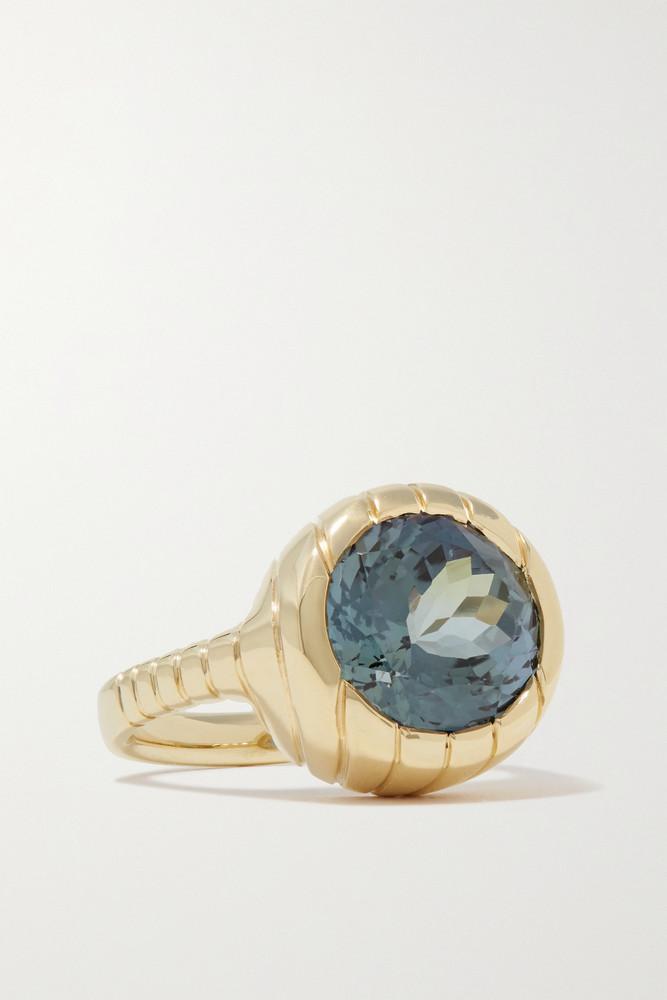 Retrouvaí Retrouvaí - Heirloom 14-karat Gold Tanzanite Ring - 7