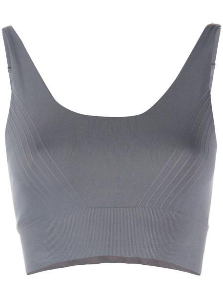Filippa K Soft Sport seamless sports bra in grey
