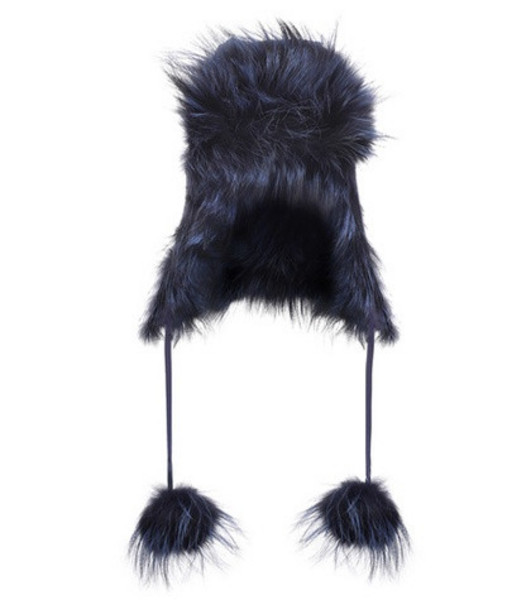 Fendi Fur hat in blue