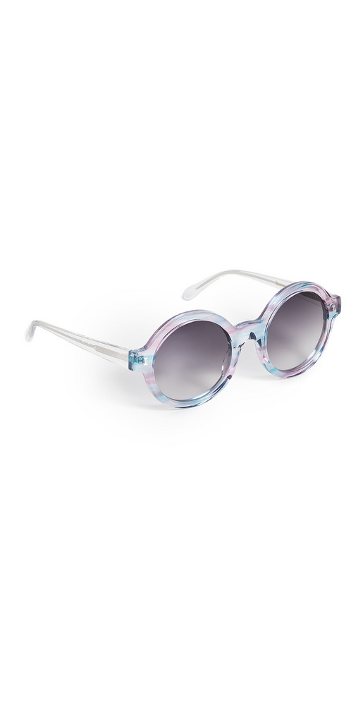 Illesteva Frieda Unicorn Sunglasses in clear