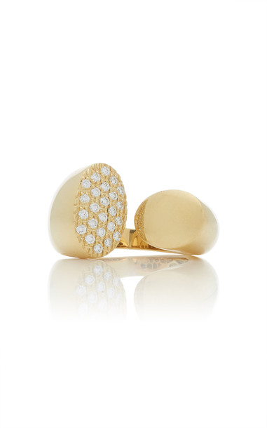 Giovane 18K Gold and Diamond Ring