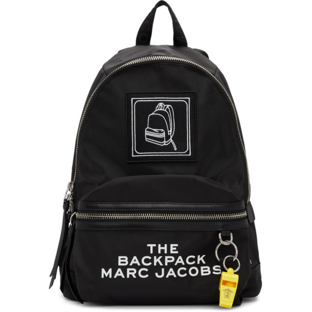 Marc Jacobs Black The Pictogram Backpack