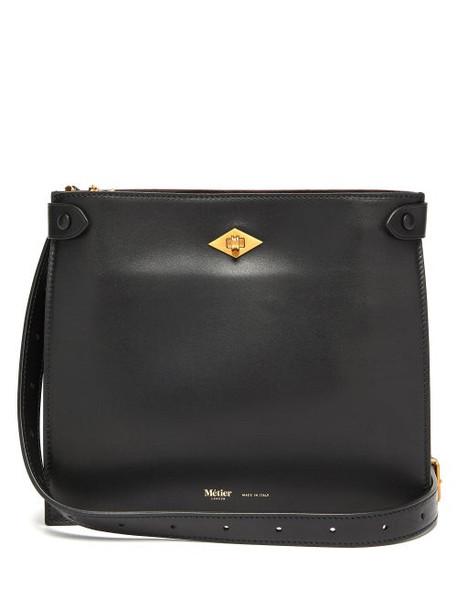Métier London - The Stowaway Leather Cross-body Bag - Womens - Black