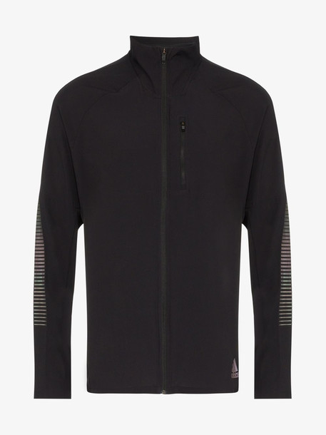 adidas black Rise Up N Run sports jacket