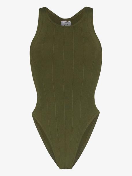 Hunza G Iris swimsuit in green