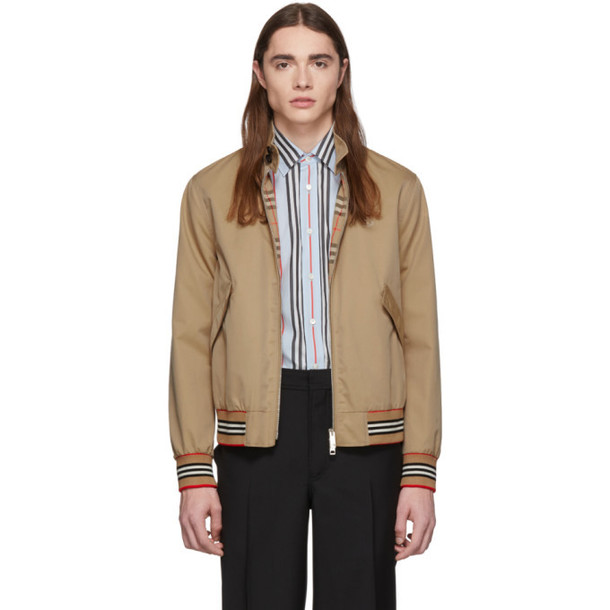 Burberry Tan Whitstable Jacket