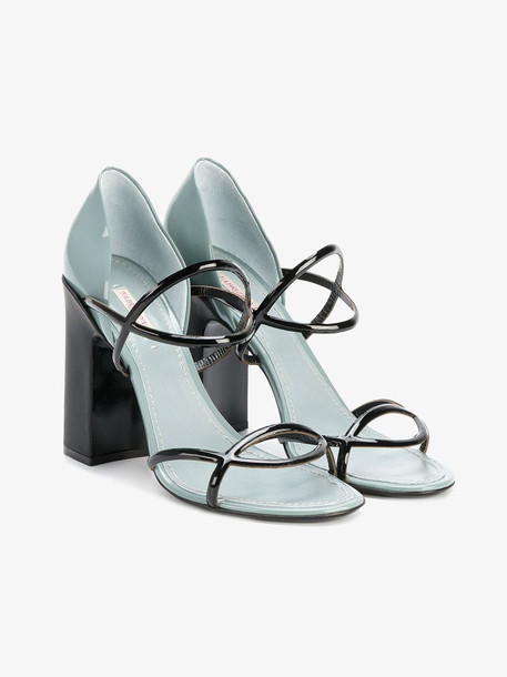 Fabrizio Viti Round 'N' Round sandals in black