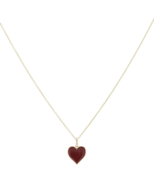 Sydney Evan Heart 14kt yellow gold necklace