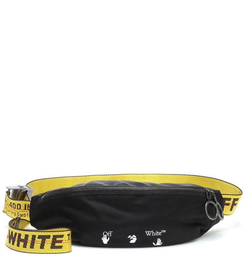 Off-White Logo belt bag in black