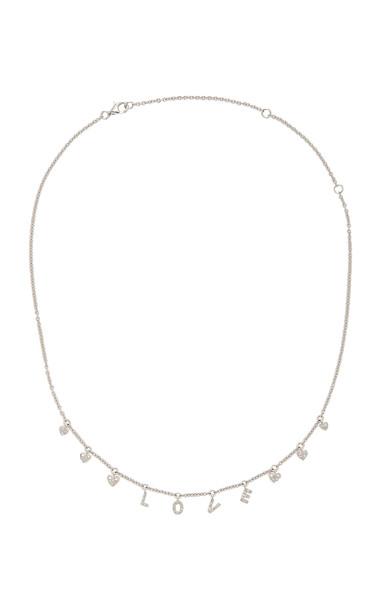 Shay 18K White Gold Diamond Necklace