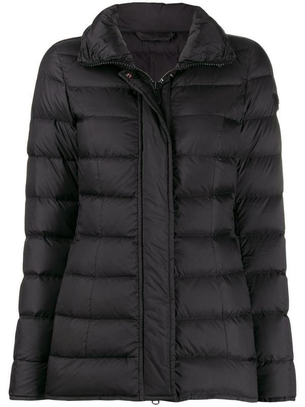 Peuterey short padded coat in black