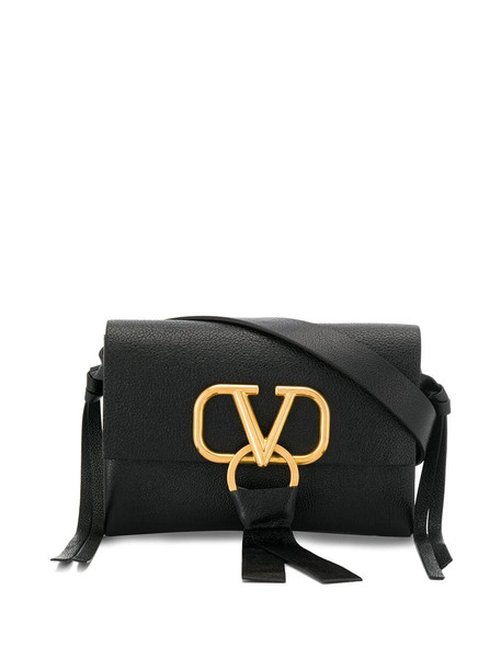 Valentino Garavani Valentino Garavani V Ring Belt Bag in nero