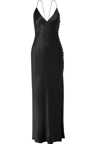 Cami NYC - The Lillian Silk-charmeuse Maxi Dress - Black