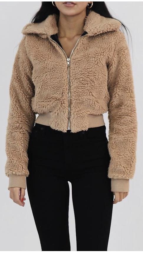 jacket faux fur tan fauz fur teddy bear teddy bear coat faux fur jacket