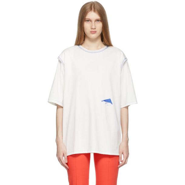ADER error White Trace Tape Logo T-Shirt