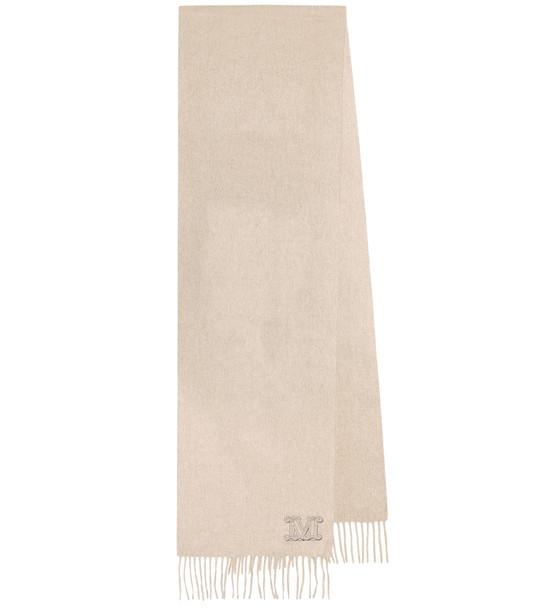 Max Mara Dalia cashmere scarf in beige